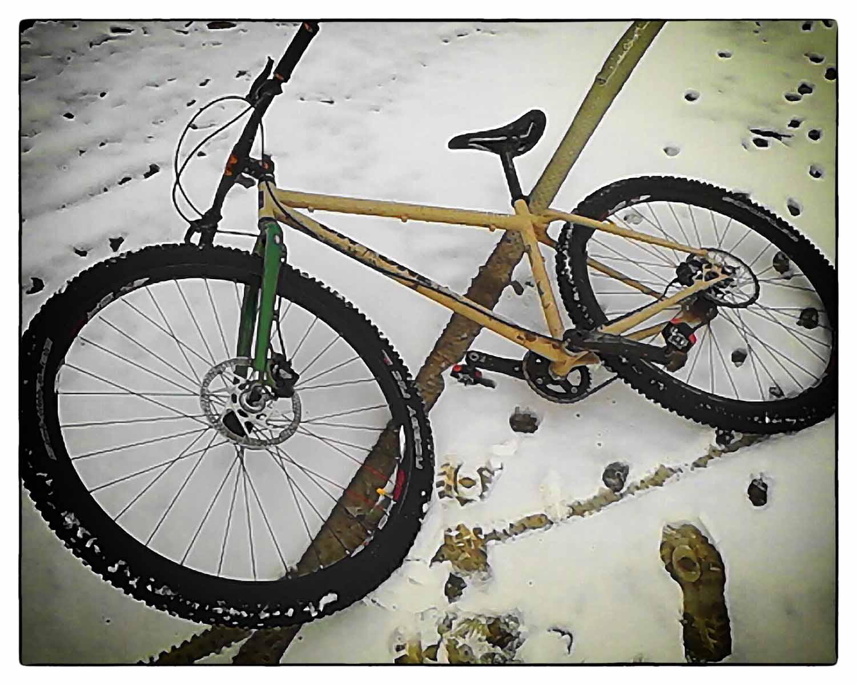 Tre dita di neve (e fango)...36x18...una fatica immane.
