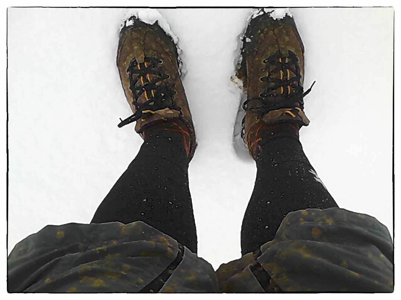 Neve, fango e un discreto freddino per l'uscita inaugurale della mia Inbred 29er SS.