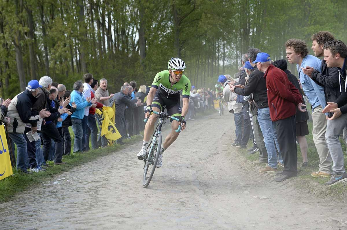 2014, Paris - Roubaix, Belkin 2014, Vanmarcke Sep, Pont Thibaut a Ennevelin