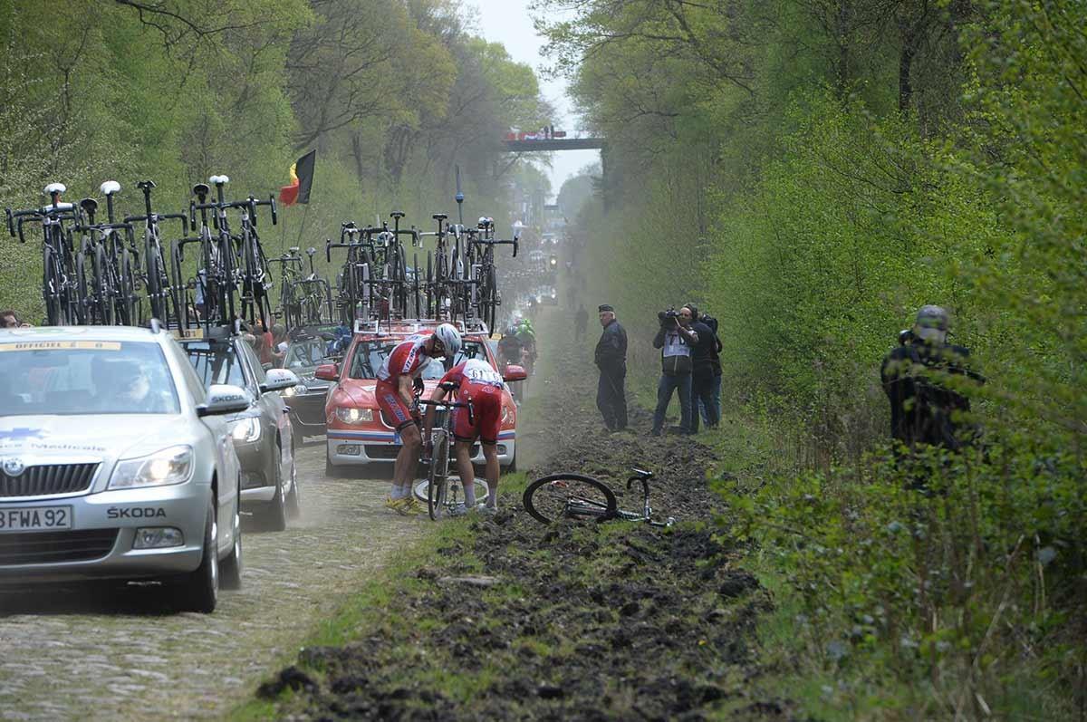 2014, Paris - Roubaix, Katusha 2014, Kristoff Alexander, Arenberg