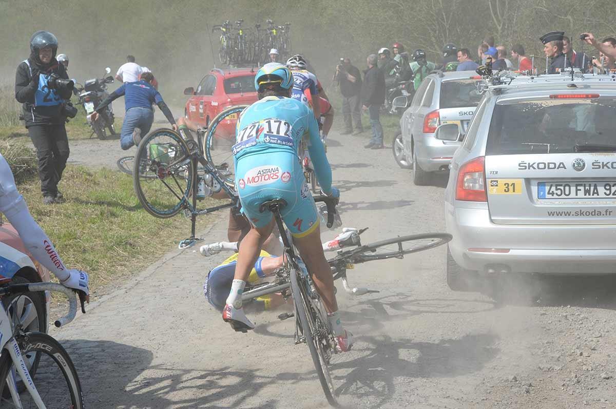 2014, Paris - Roubaix, Astana 2014, Pont Gibus