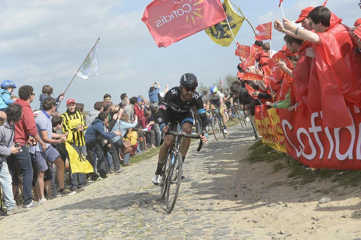 2014, Paris - Roubaix, Team Sky 2014, Wiggins Bradley, Carrefour de l'Arbre
